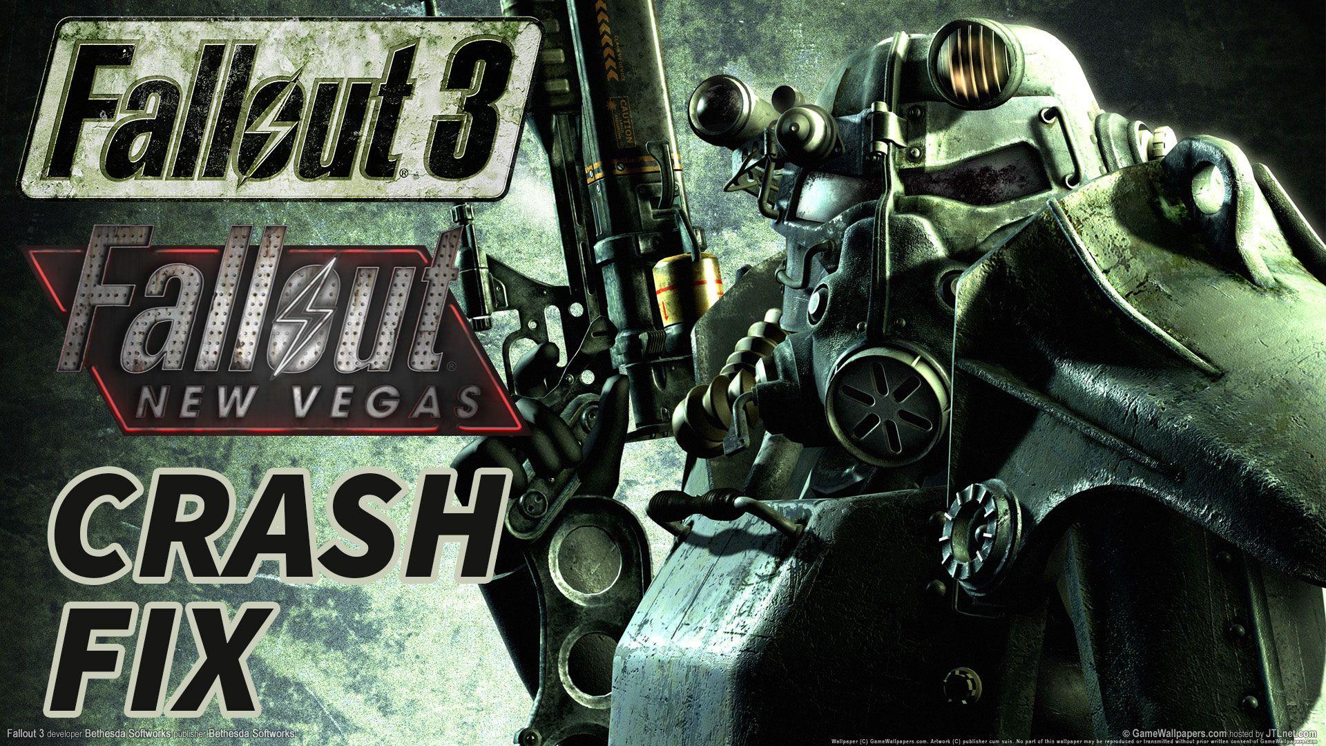 Fallout 3 crash fix Steam