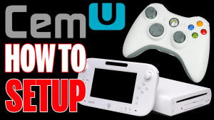 Setting up the Wii U emulator CEMU 1.6.2 with an Xbox 360 Controller